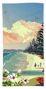 New Zealand Orewa Beach Bath Towel