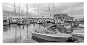 Newport Rhode Island Harbor Hand Towel