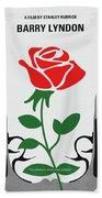 No1019 My Barry Lyndon Minimal Movie Poster Bath Towel