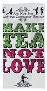 No16 My Silly Quote Poster Hand Towel