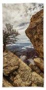 North Rim Fog 1 - Grand Canyon National Park - Arizona Bath Towel