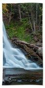 October Morning At Bastion Falls II Bath Towel