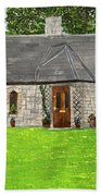 Old Columba's Church Rectory Hand Towel