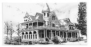 Old Daly Mansion Hamilton Montana Hand Towel