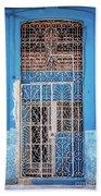 Old Door In Havana Hand Towel