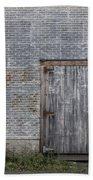 Old Trackside Warehouse Bath Towel