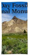 Oregon - John Day Fossil Beds National Monument Sheep Rock 1 Hand Towel