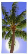 Palm Tree Sun Bath Towel by Patti Deters