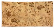 Paper Petal Patterns Hand Towel