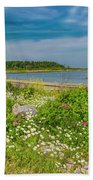 Paradise In Maine Hand Towel