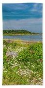 Paradise In Maine Bath Towel