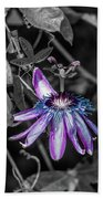Passion Flower Only Alt Hand Towel