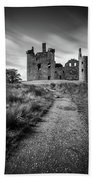 Path To Kilchurn Castle Hand Towel