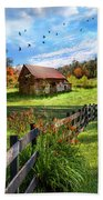 Peaceful Country Morning Bath Towel