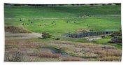 Peaceful Farm In Durango Hand Towel