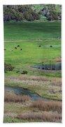 Peaceful Farm In Durango Bath Towel