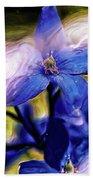 Peek A Blue Hand Towel