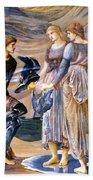 Perseus And The Sea Nymphs 1877 Bath Towel