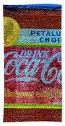 Petalima's Drink Coca-cola Bath Towel