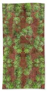 Pine Rows Aerial Hand Towel