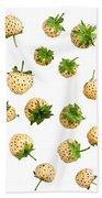 Pineberries Hybrid  Bath Towel