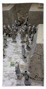 Pit 2 Of Terra Cotta Warriors, Xian, China Bath Towel