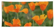 Poppies In The Breeze Bath Towel