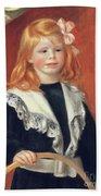 Portrait De Jean Renoir Hand Towel