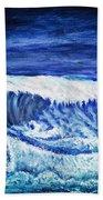 Promethea Ocean Triptych 2 Hand Towel