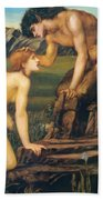 Psyche And Pan 1874 Bath Towel