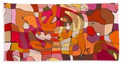 Puzzle Hand Towel