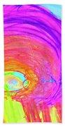 Rainbow Shell Bath Towel