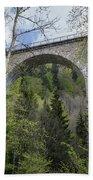 Ravenna Gorge Viaduct 05 Bath Towel