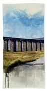 Ribblehead Viaduct Bath Towel