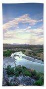 Rio Grand River Hand Towel