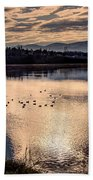 River Of Clouds Hand Towel