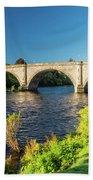 River Tay, Dunkeld, Perthshire Bath Towel
