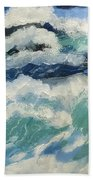 Roaring Ocean Hand Towel