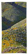 Rolling Hillsides In California - Vertical Hand Towel
