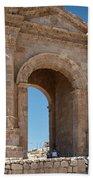 Roman Arched Entry Bath Towel by Mae Wertz