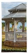 San Luis Gazebo Bath Towel by James Woody