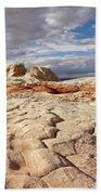 Sandstone Landscape Bath Towel by Leda Robertson