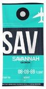 Sav Savannah Luggage Tag II Hand Towel