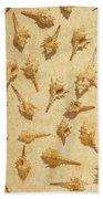 Sea Shell Scroll Bath Towel