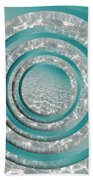 Seabed Circles Hand Towel