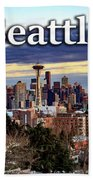 Seattle From Kerry Park Hand Towel