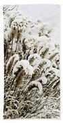 Sepia Snow Hand Towel