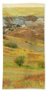 September In The Realm Of West Dakota Hand Towel