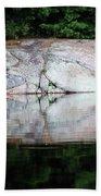 Shawanaga Rock And Reflections Iv Bath Towel