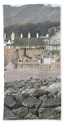 Sidmouth Sea Front Hand Towel